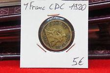 PIECE DE UN 1 FRANC CDC 1920 FRANCE