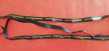 Ruban Tissus Christian LACROIX Paris - Noir L 1,30 m - l 1,2 cm  Neuf