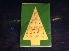 (8) Holiday Party Invitation cards W/ Envelopes  Tis the season to be Jolly