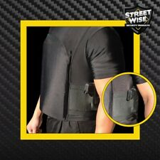 Streetwise large T shirt bullet proof vest dual holsters free shipping