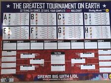 The Daily Mail Football World Cup Russia 2018 UK WallChart Planner