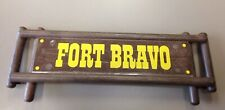 "Playmobil Western Vintage Fort Bravo ""Wood"" Sign Spare Part 3773"