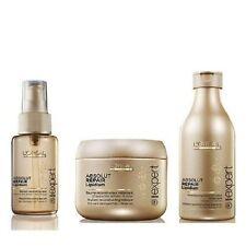 L'Oreal Professional Absolute Repair Kit Lipidium Shampoo,Serum & Masque
