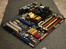 ASUS P5QC LGA 775, Intel P45 ATX Motherboard, DDR3 & DDR2  with Intel Q8200 quad