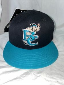 "New Era 5950 Brevard County Manatees fitted MILB hat 6 7/8"" wool baseball cap"