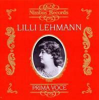LEHMANN/Prima Voce de Lilli Lehmann (2014)