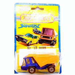 Vintage 1976 Matchbox Superfast #23 Atlas Truck New in Original Blister Pack