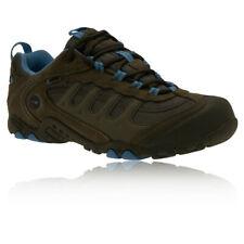 Hi-Tec Penrith Womens Grey Blue Waterproof Trail Walking Hiking Sports Shoes
