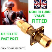 Royaume-Uni baionnette GPL point de remplissage de remplissage pour bouteille de gaz Adaptateur Avec Non Retour Valve