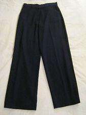Donna Pantaloni, Pano, Tg. 40, nero, tessuto misto, davanti 2 scatto, LAMPO