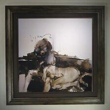 Ashley Wood Nabler Domestic Scene Art Print of only 10. Framed by Furthur Frames