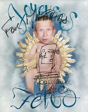 JEAN PAUL GAULTIER / Autographe Imprimé sur Photo Officielle - année 1998.