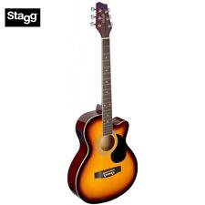 Stagg SA20ACE Full Size Cutaway Auditorium Acoustic Electric Guitar Sunburst