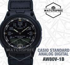Casio Analog Digital Watch AW80V-1B