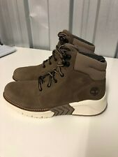 MEN'S TIMBERLAND HIGH TOP MTCR PT CHUKKA TAUPE GRAY TRAINER IN Uk Size 8.5 Eu 43