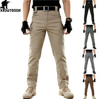 Military Tactical Men's Cargo Pants Army Urban Combat Multi Pockets Casual Pants