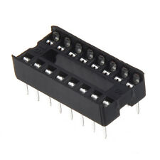 30 Pcs 16 Pin 2.54mm DIP IC Socket Solder Type Adaptors