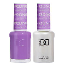 DND Daisy Duo Gel W/ matching nail polish lacquer - LAVENDER PROPHET- 492