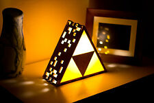 Zelda Triforce Lamp - Original - Hanging or End Table