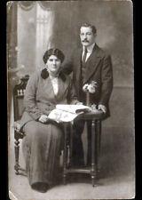 ORAN (ALGERIE) COUPLE / Carte-Photo Postale du Studio George KOUCKE