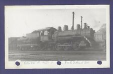 Davenport Rock Island & NW DRI 0-6-0 Steam Locomotive #50 VTG B&W Railroad Photo