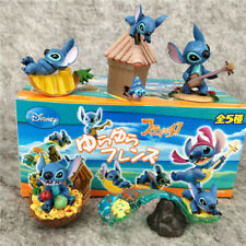 lilo&stitch live play set of 5pcs PVC figure collect doll hot toy gift new
