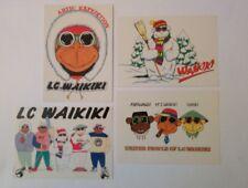 4 carte postale publicitaire LC WAIKIKI
