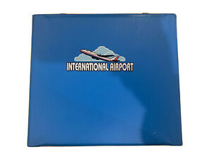 Realtoy International Airport Toy Car Carrying Case Airport Parking Vinyl