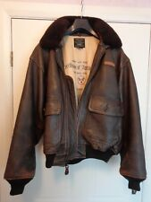 AVIREX LTD G-1 Leather Flying Jacket (M)