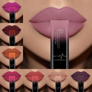 Pudaier Moisturizer Matte Nude Liquid Lipstick Metal Color Lip Gloss Make up New