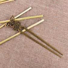 U Shape Retro Metal Hair Fork Hair Pin Hair Pick Square Hair Clip Hair JewelryLZ