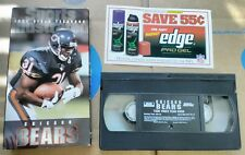 Vintage 1996 NFL Films Sports Illustrated Chicago Bears Video Yearbook VHS Tape