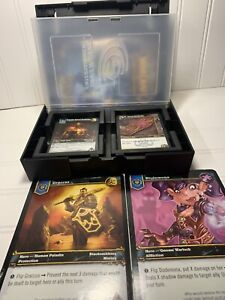 World Of Warcraft Trading Card Game Set Manual 2 Giant Cards