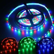 5m 12V 2.88W/m SMD 3528 300-LED 60pcs/m Indoor Dimmable Strip Light RGB _GG