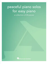PEACEFUL PIANO SOLOS FOR EASY PIANO MUSIC BOOK-BRAND NEW ON SALE SONGBOOK-RELAX