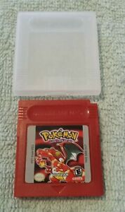 POKEMON RED VERSION FOR GAMEBOY (CARTRIDGE ONLY REPRODUCTION VERSION)
