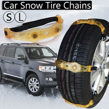 Winter Anti-skid Chains Car Snow Mud Wheel Tyre Thickened Tire Tendon 165-195mm