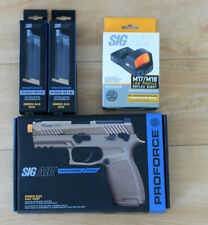 New listing SigAir Proforce Airsoft M18 W/ Red Dot and 2 Extra Magazines