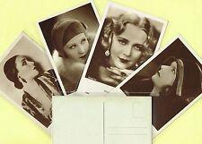 IRIS VERLAG - 1930s Film Star Postcards issued in Austria #5775 to #6137