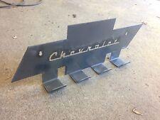 Tow Strap Rack - Chevy Bowtie Holder Garage and Trailer Organization Chevrolet