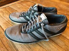 Adidas Vespa Mens Trainers - Size UK 9 -Grey & Black