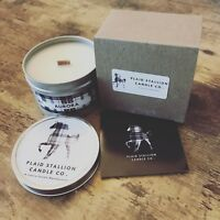 Floral, Vanilla and Citrus Scent (Aurora) | Wooden Wick Crackling Scented Candle