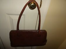 HOBO International Brown Leather Purse Handbag