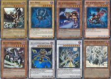 Yugioh Authentic Ghost Deck - Meklord Emperor Wisel - Catastor - 44 Cards  UNL