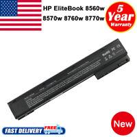 VH08 Battery For HP Elitebook 8560W 8570W 8760W 8770W 632427-001 632425-001 Fast