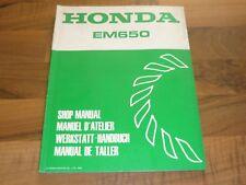 HONDA EM650 Generator Stromerzeu...