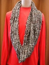 Steve Madden, infinity Loop Scarf Circumference  , Color BRGY, NEW