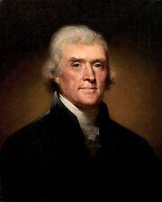 Thomas Jefferson Founding Fathers U.S. Portrait 11 x 14  Poster Photo Picture