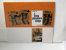 KING PLEASURE - Sings ~ PRESTIGE7128 {nm} [ojc-217] w/Annie Ross, Lucky Thompson