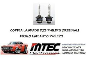 COPPIA LAMPADE D2S PHILIPS ORIGINALI NO OSRAM PRIMO IMPIANTO PHILIPS